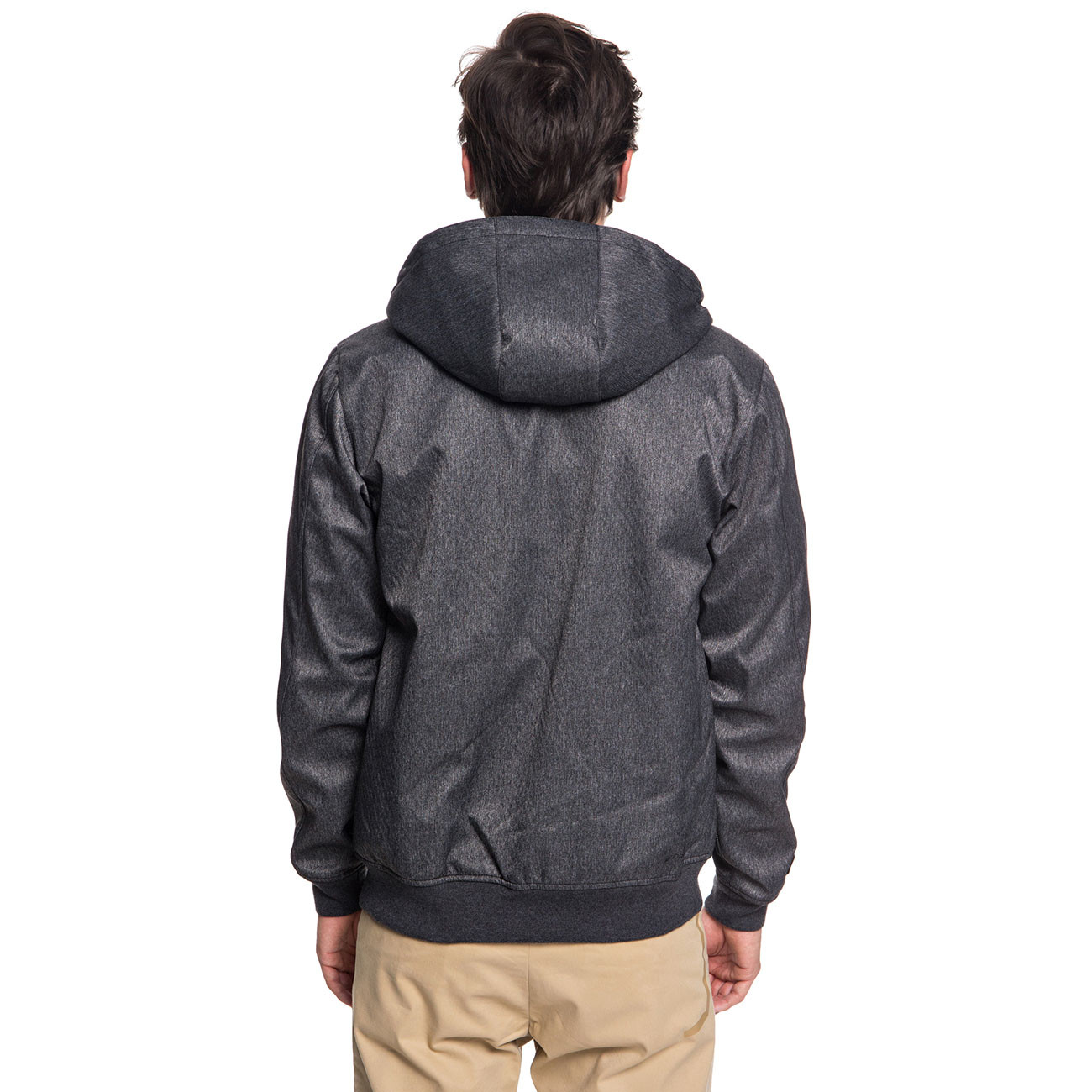 7fafe04a4840e Street jacket Quiksilver Brooks Bonded dark grey heather