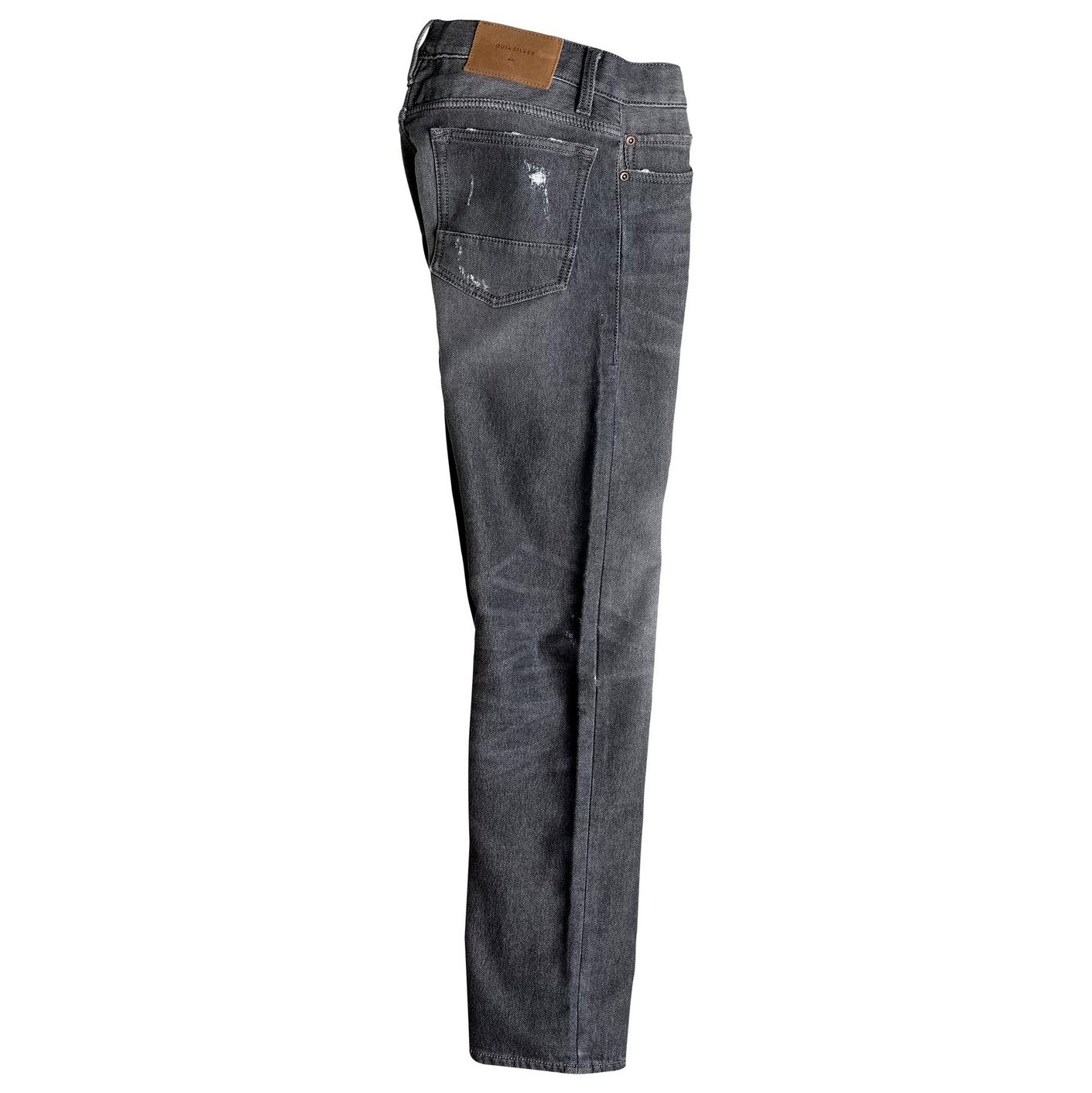 Jeansy Quiksilver Distorsion Grey Damaged Aw Youth