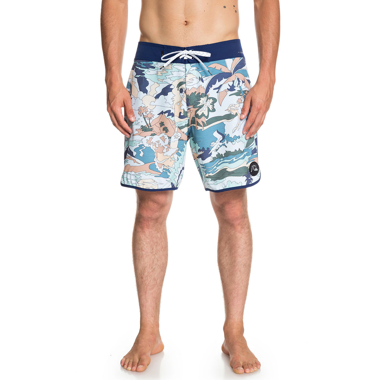 Boardshortky Quiksilver Highline Feelin Fine 18