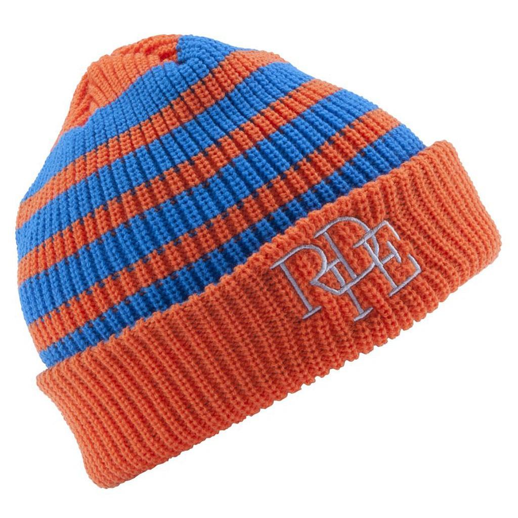Zimní čepice Ride Stripe orange
