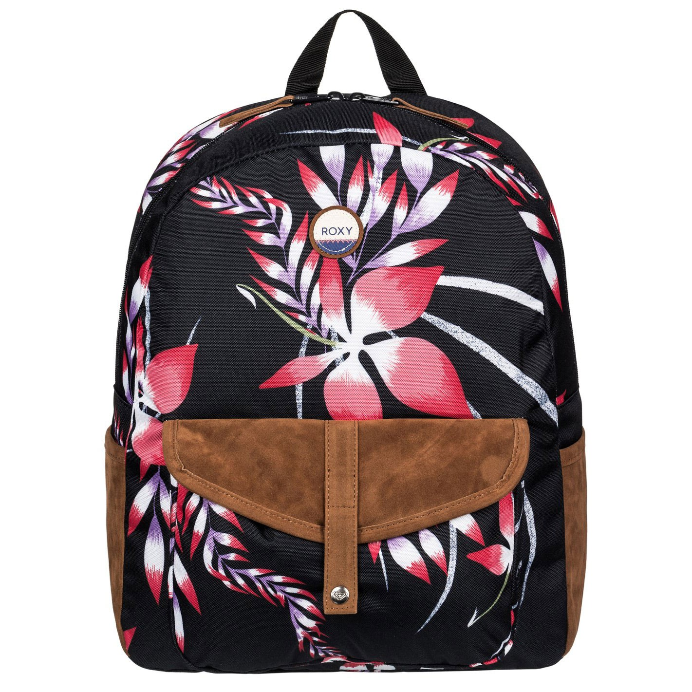 Batoh Roxy Carribean anthracite mistery floral