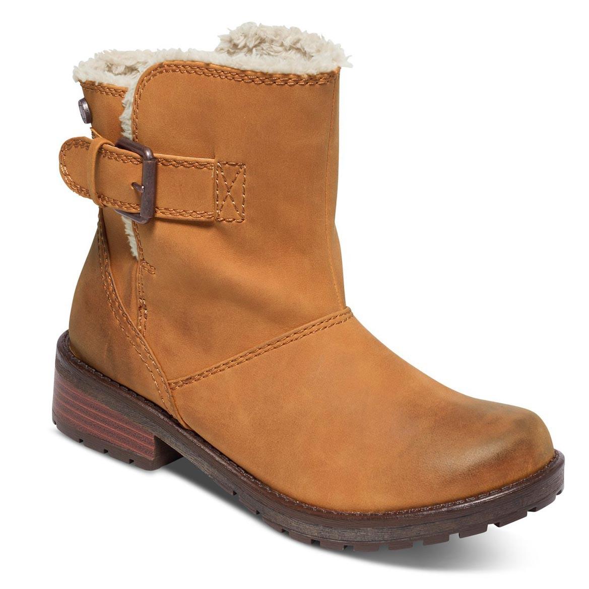 Zimní boty Roxy Castro tan