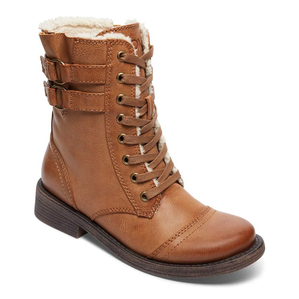 Zimní boty Roxy Dominguez tan
