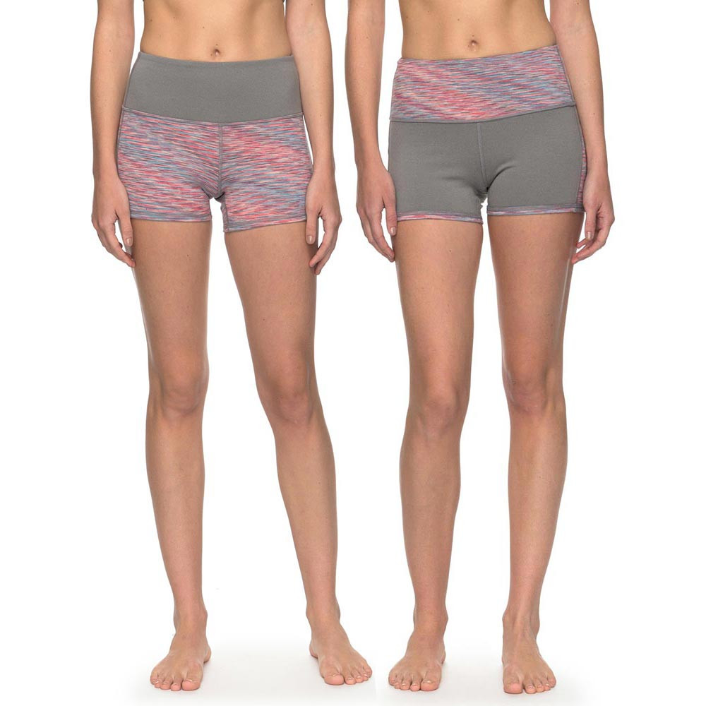 Fitness Roxy Every You Every Me Short charcoal heather