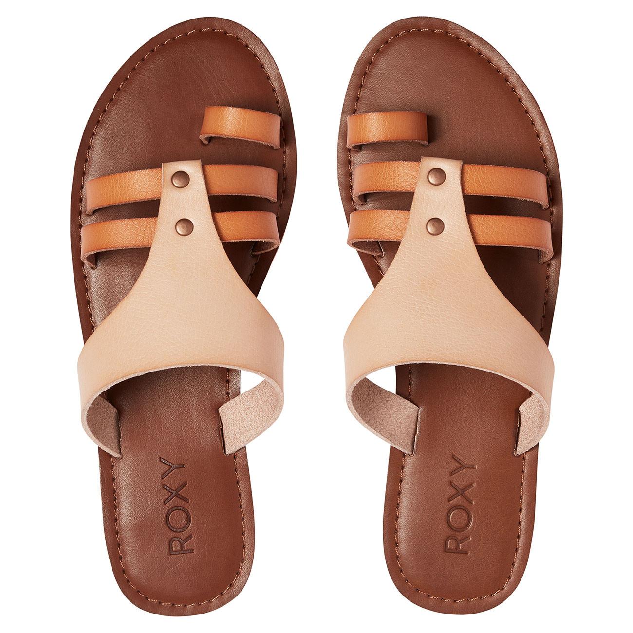2b2ce1f756 Sandals Roxy Pauline tan
