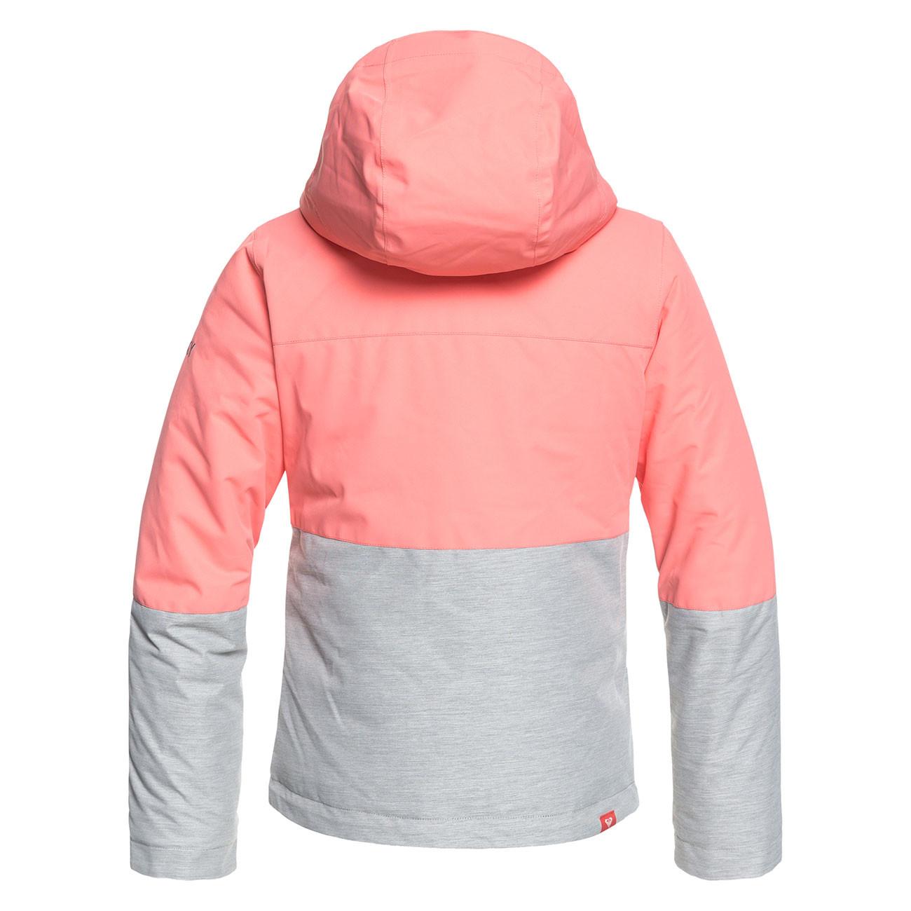 Bunda Roxy Roxy Jetty Girl Block shell pink  96a995ac474