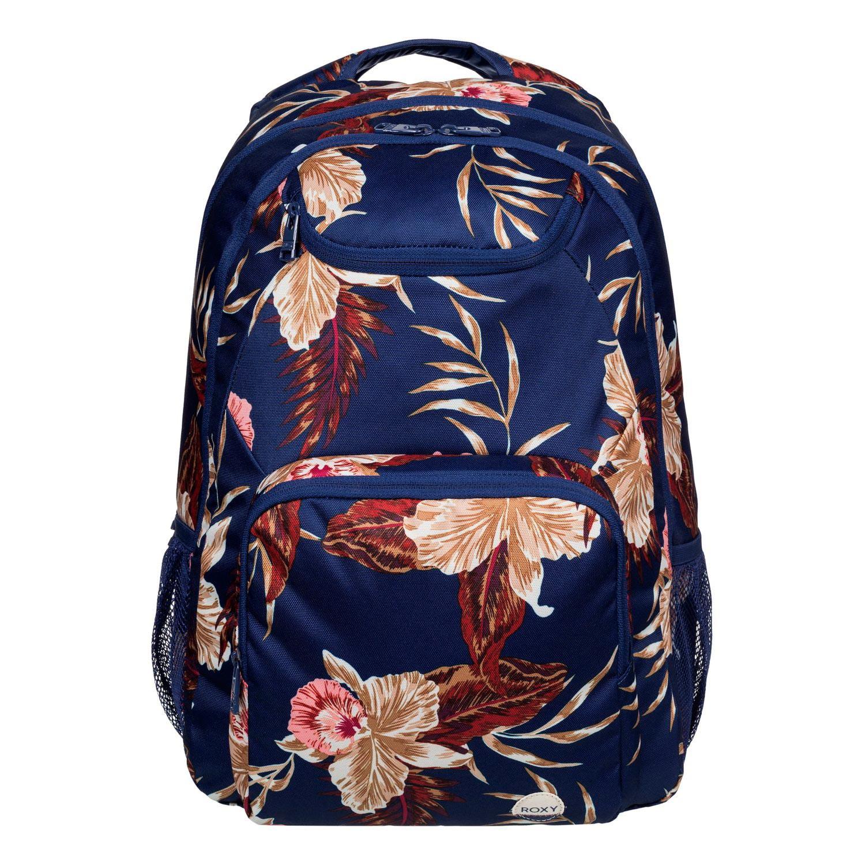 Batoh Roxy Shadow Swell castaway floral blue print vel.24L 46×33×14 cm 16 + doručení do 24 hodin
