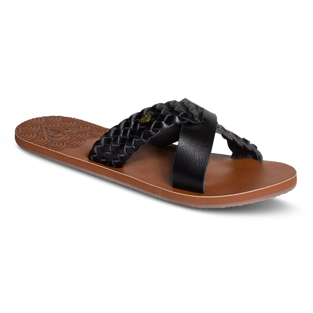 Žabky Roxy Sol black