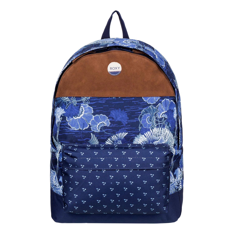 Batoh Roxy Sugar Baby Soul perpetual flower blue print vel.16L 41×32×11 cm 16 + doručení do 24 hodin
