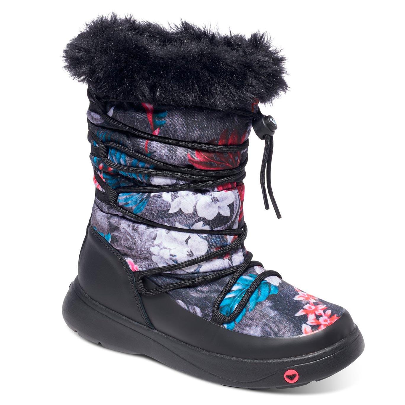 Zimní boty Roxy Summit black print vel.6 (39) 16 + doručení do 24 hodin