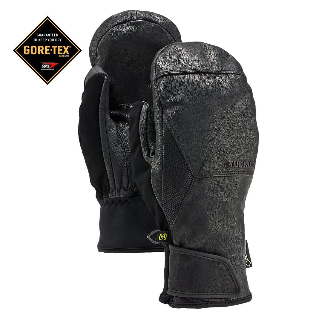 Rukavice Burton Gondy Gore Leather Mitt true black