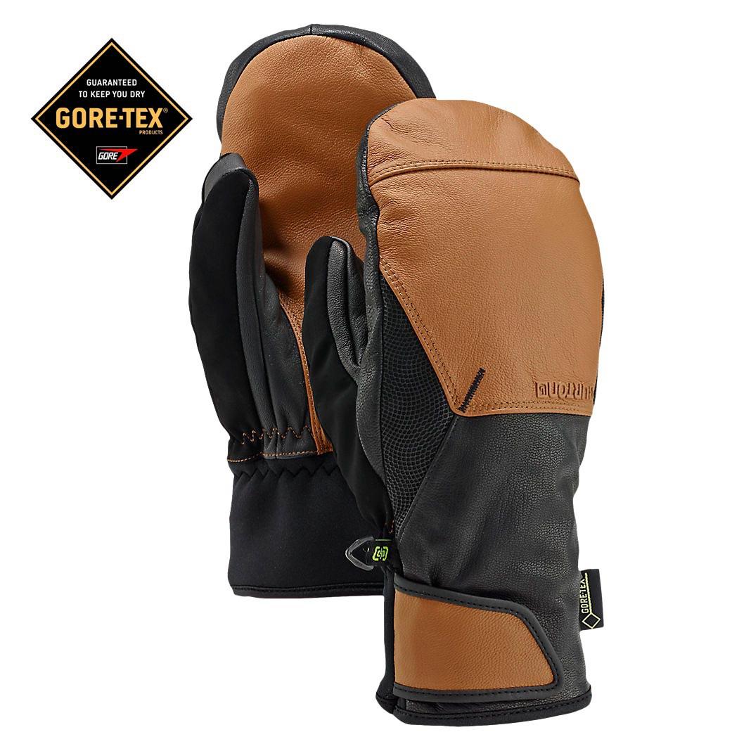 Rukavice Burton Gondy Gore Leather Mitt true penny vel.S 16/17 + doručení do 24 hodin