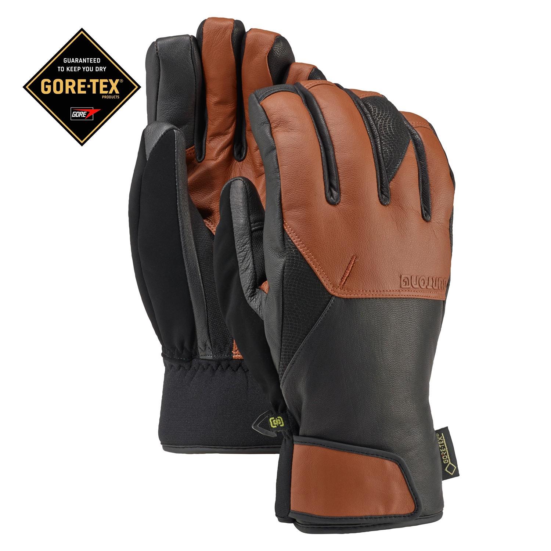 Rukavice Burton Gondy Gore Leather true penny vel.L 16/17 + doručení do 24 hodin