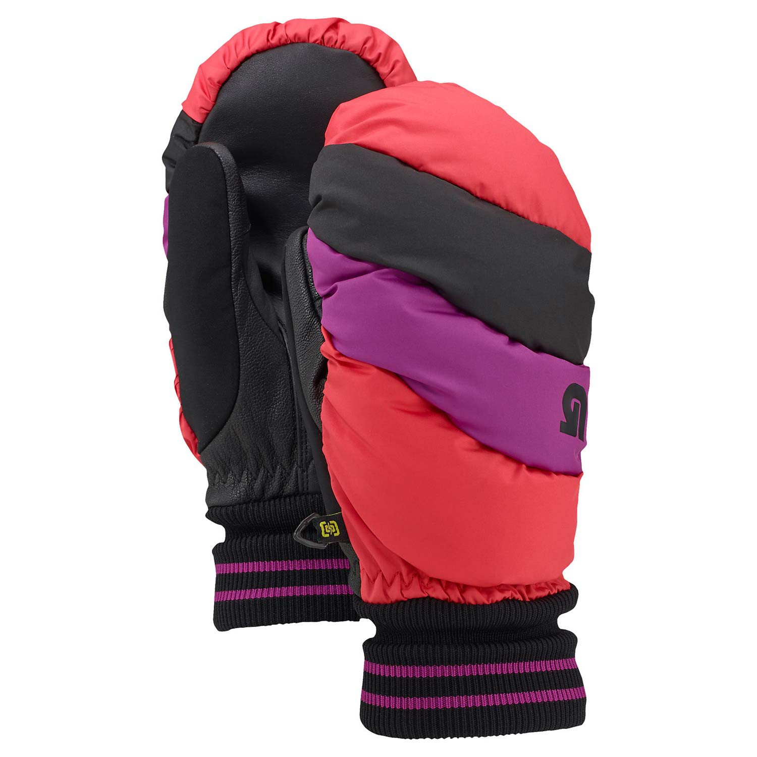 Rukavice Burton Wms Warmest Mitt tropic/grapeseed/true black