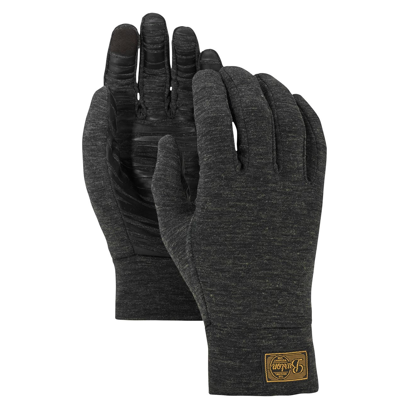 Rukavice Burton Wool true black heather