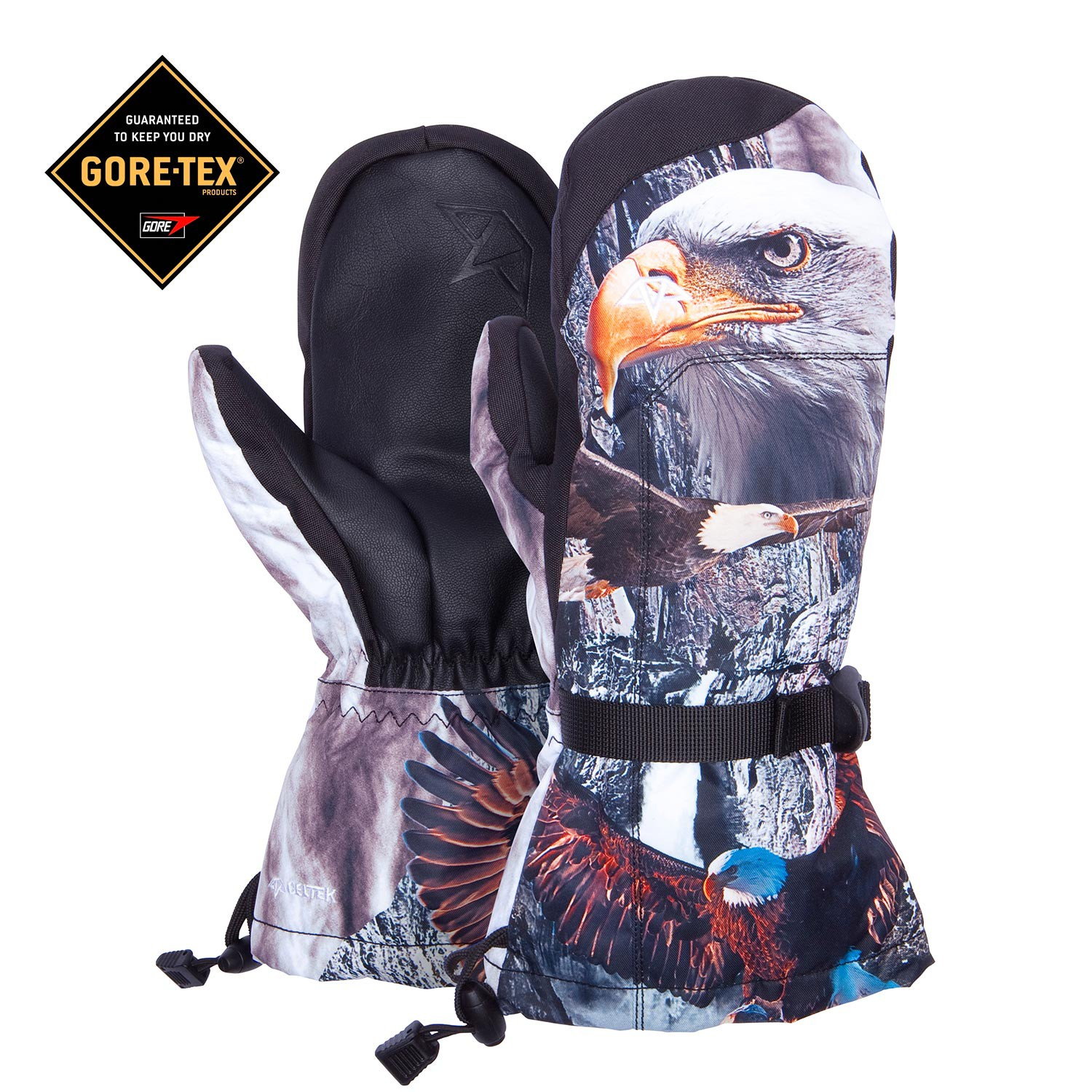 Rukavice Celtek El Nino Over Mitten Gore-Tex eagle eye