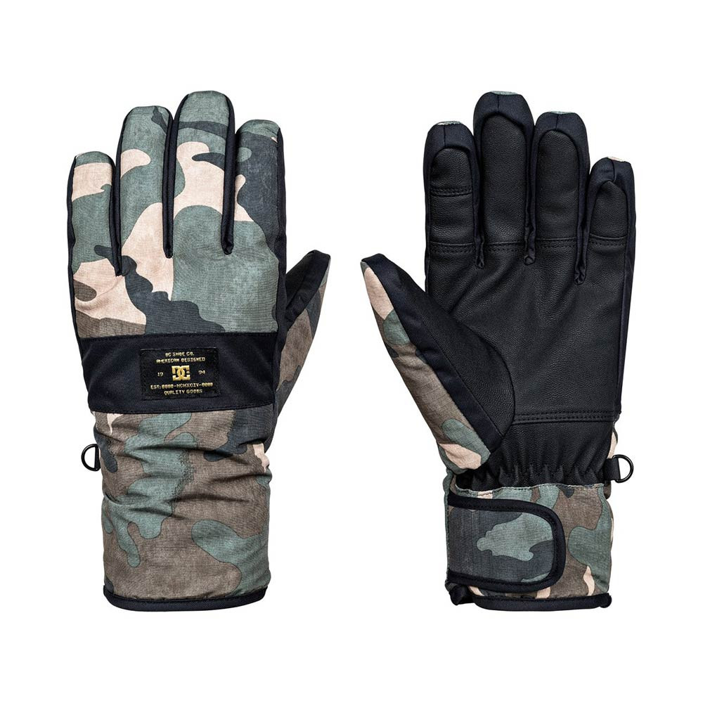 Rukavice DC Franchise british woodland camo