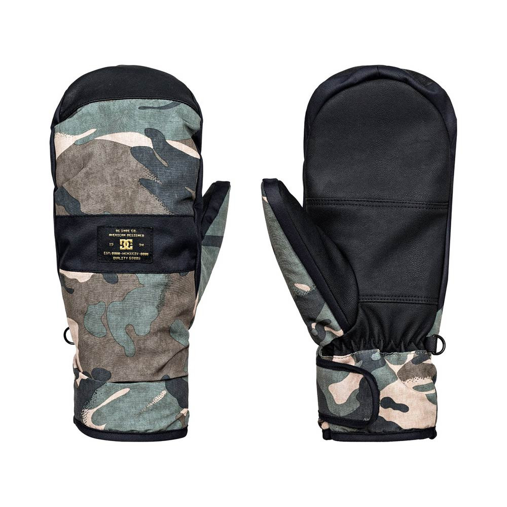 Rukavice DC Franchise Mitt british woodland camo