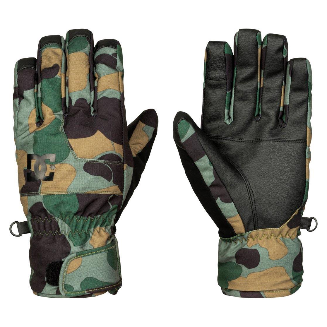 Rukavice DC Seger camouflage lodge men vel.L 16/17 + doručení do 24 hodin