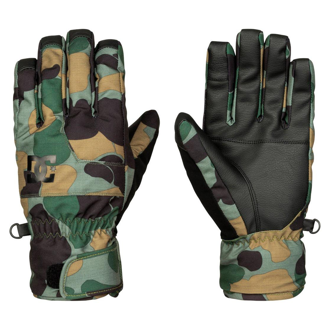 Rukavice DC Seger camouflage lodge men