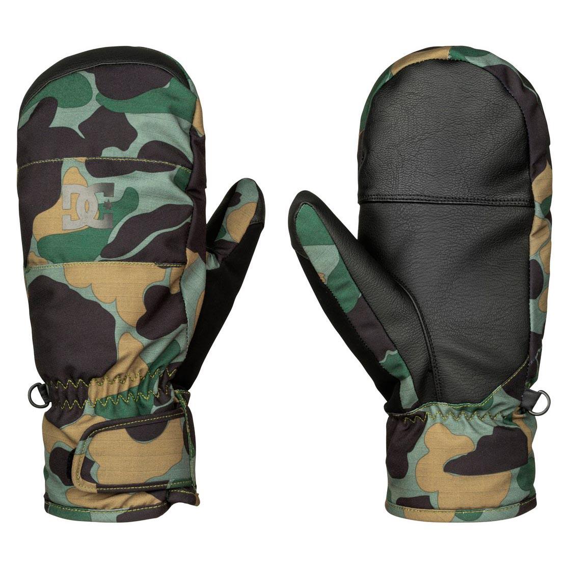 Rukavice DC Seger Mitt camouflage lodge men vel.S 16/17 + doručení do 24 hodin