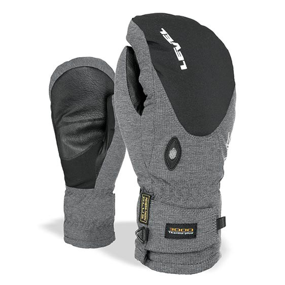 Rukavice Level Alpine Mitt pk black vel.ML 16/17 + doručení do 24 hodin