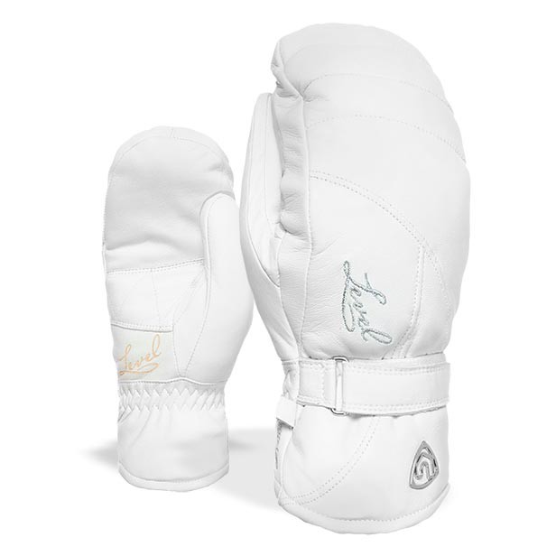 Rukavice Level Wms Classic Mitt white