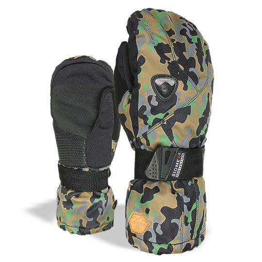 Rukavice Level Fly Mitt Jr camo