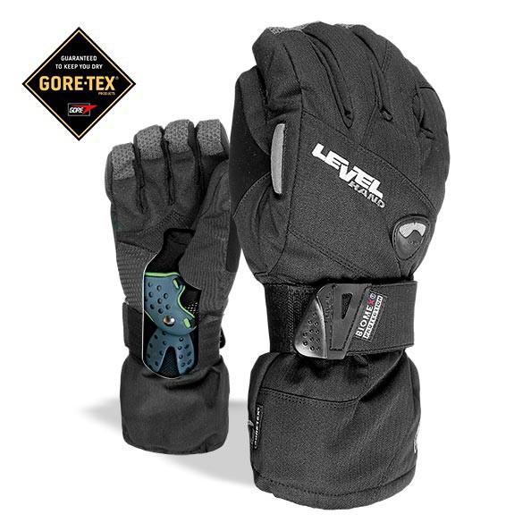 Rukavice Level Half Pipe Gore-Tex black vel.ML 16/17 + doručení do 24 hodin