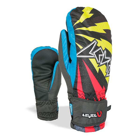 Rukavice Level Juke Jr Mitt yellow