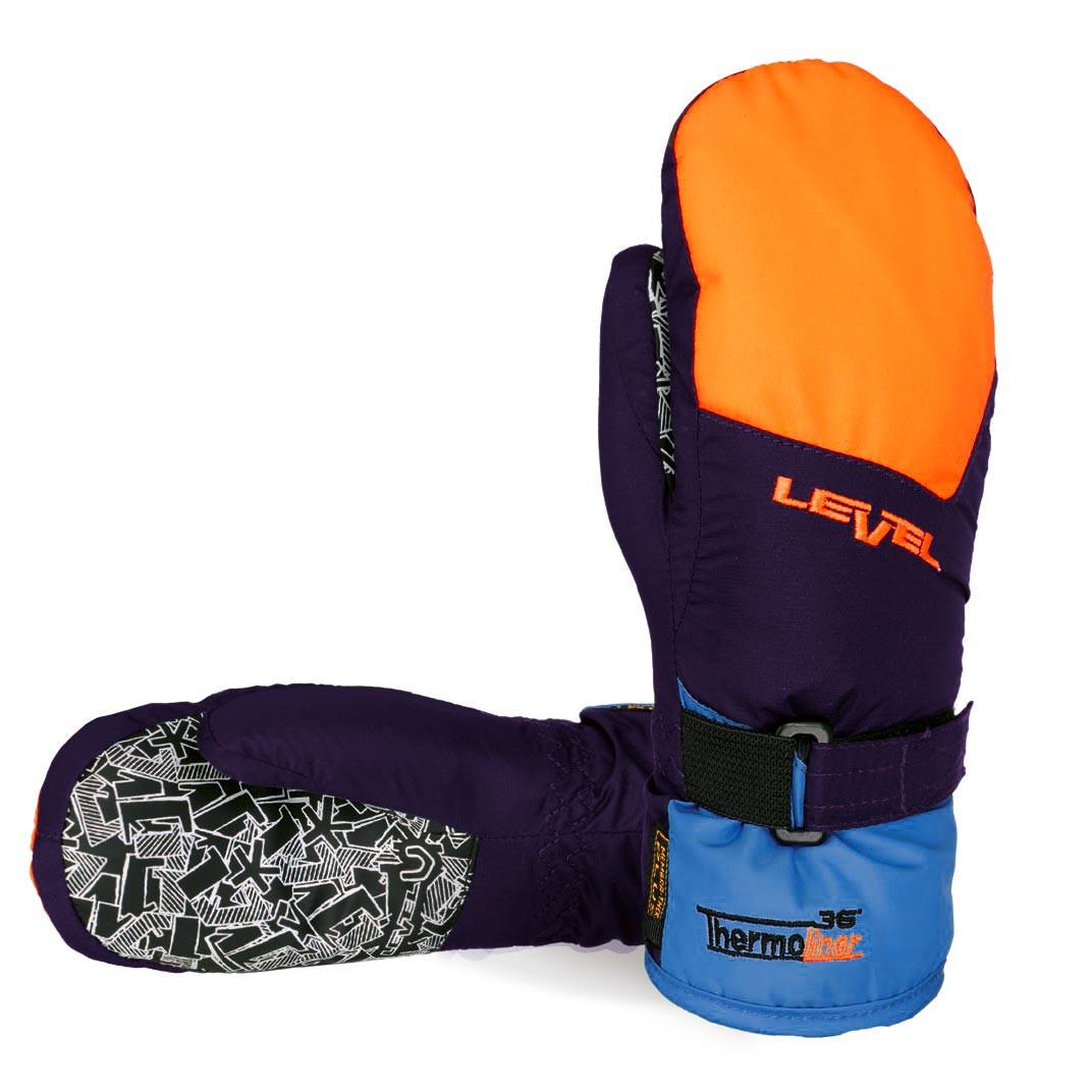 Rukavice Level Junior Mitt orange