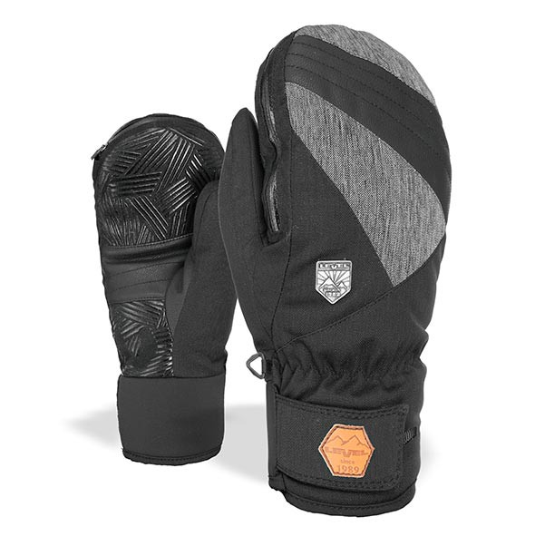Rukavice Level Stealth Mitt black/grey