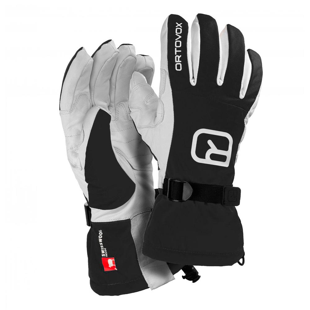 Rukavice Ortovox Freeride Glove black raven