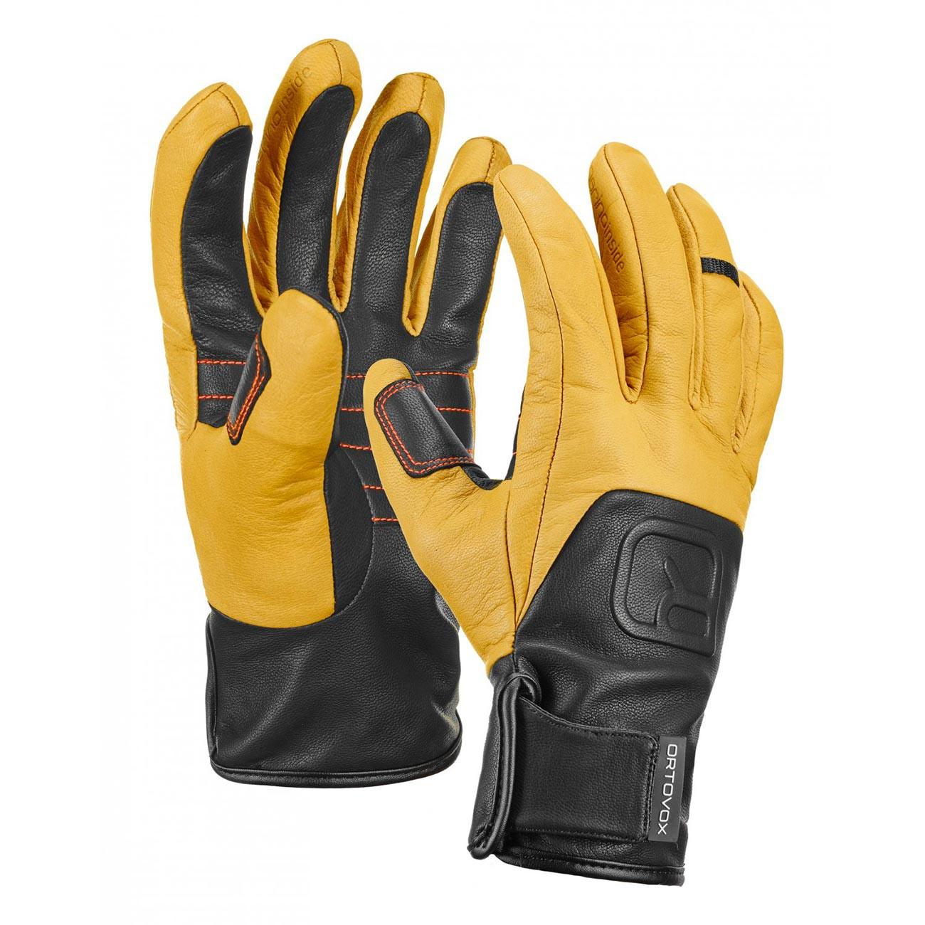 Rukavice Ortovox Pro Leather Glove light brown vel.S 16/17 + doručení do 24 hodin