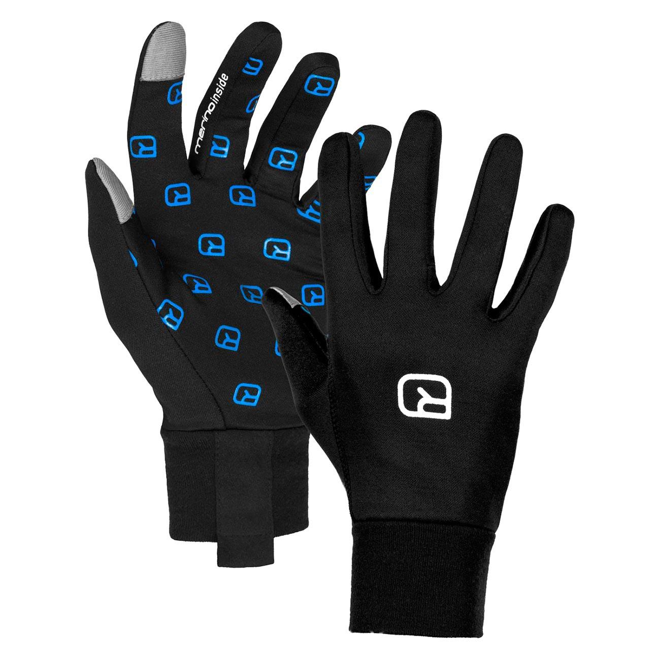 Rukavice Ortovox Smart Glove black raven