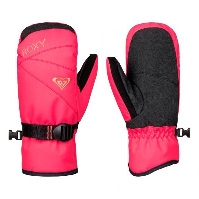 Rukavice Roxy Roxy Jetty Girl Solid Mitt paradise pink vel.JR M 16/17 + doručení do 24 hodin