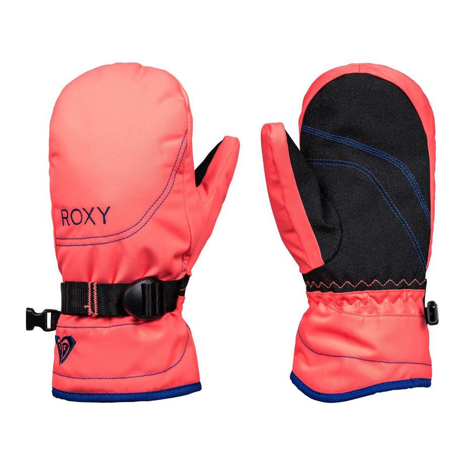 Rukavice Roxy Roxy Jetty Solid Girl Mitt neon grapefruit