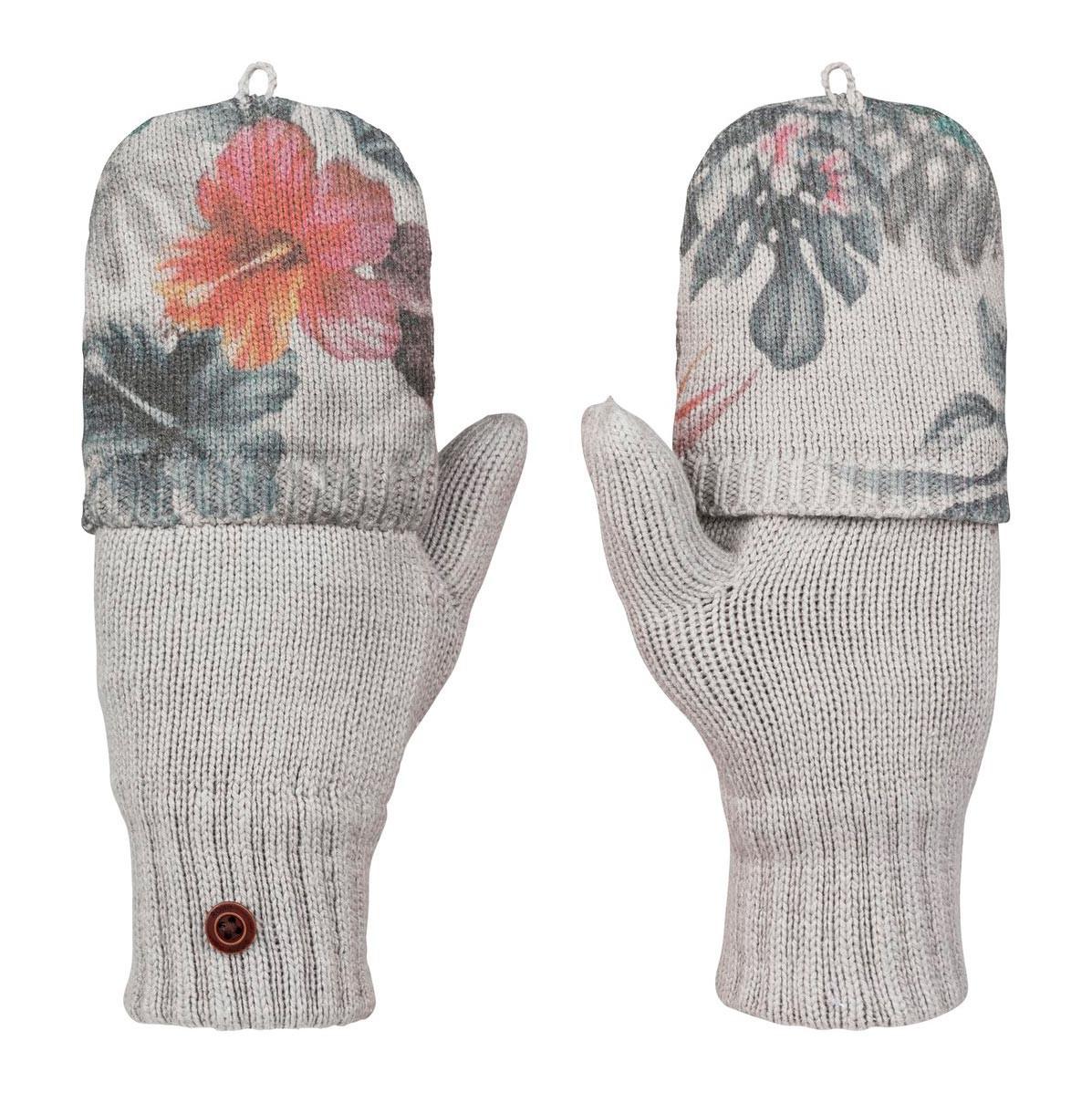 Rukavice Roxy Snow Street Knit Mitt hawaiian tropik paradise pink