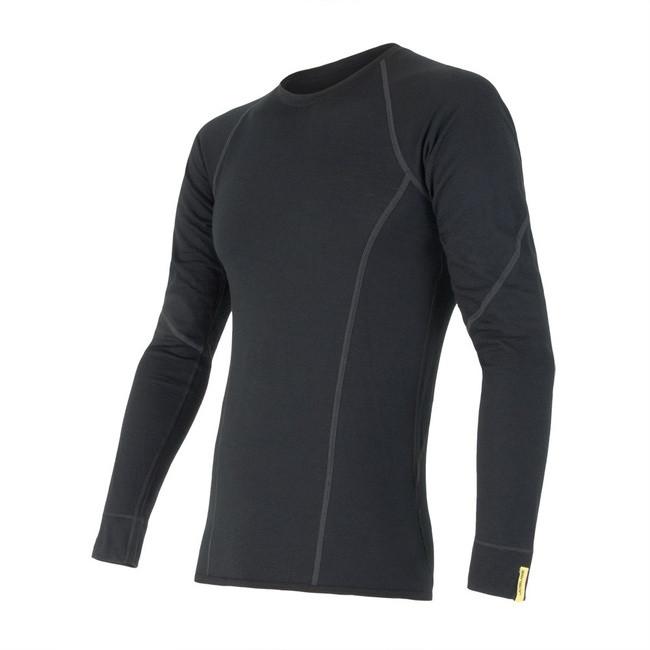 Triko Sensor Merino Wool Active černá