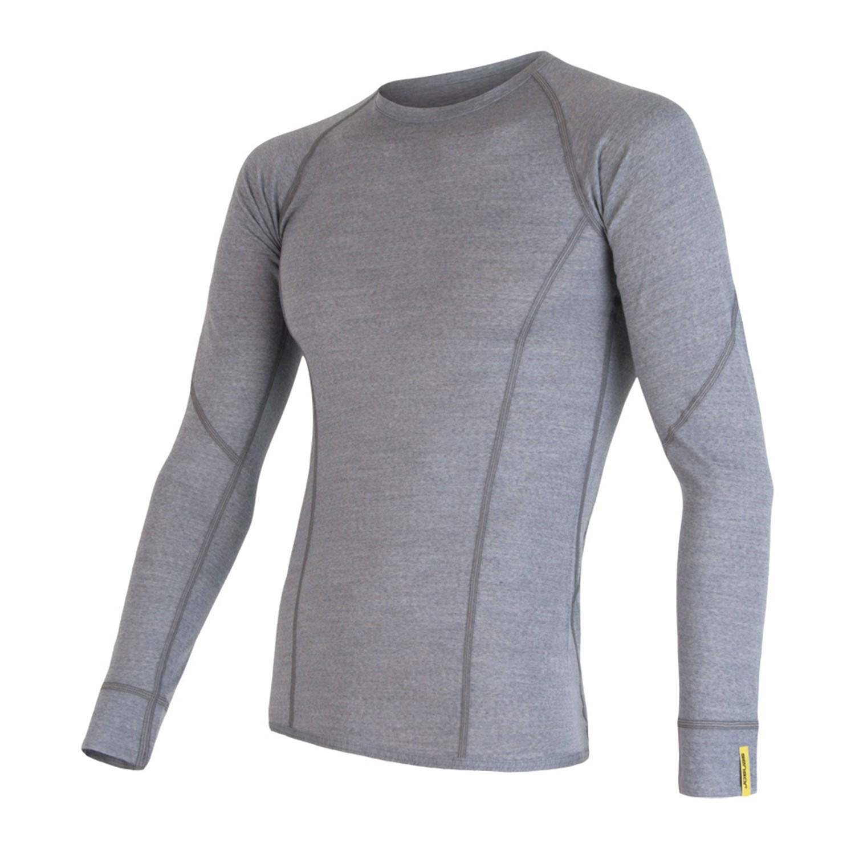 Triko Sensor Merino Wool Active šedá