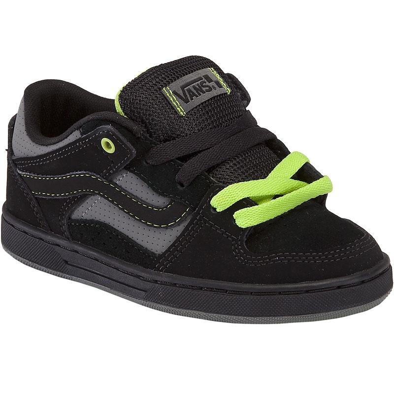 Vans Baxter Jr Black Black Lime
