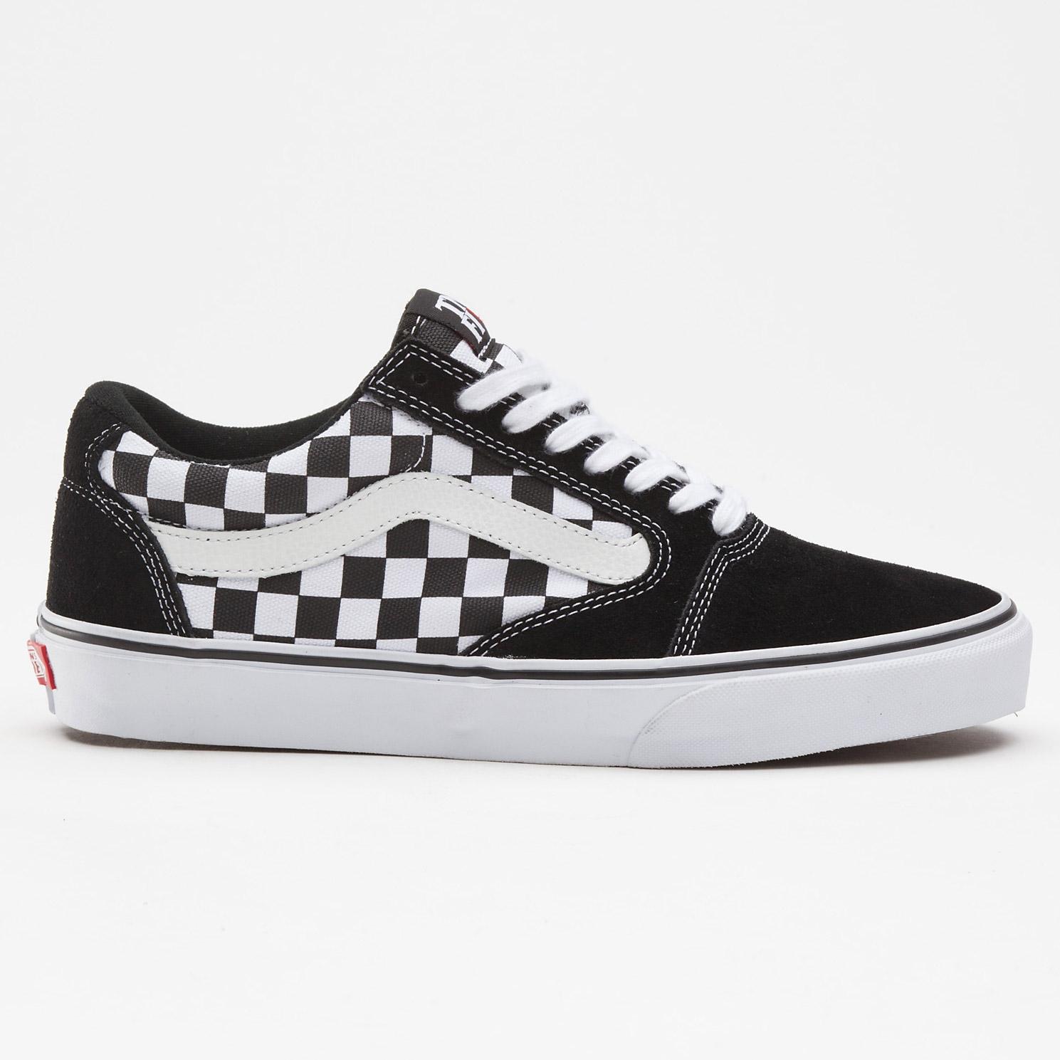 96debfa452a6 Vans Tnt 5 checkerboard black white