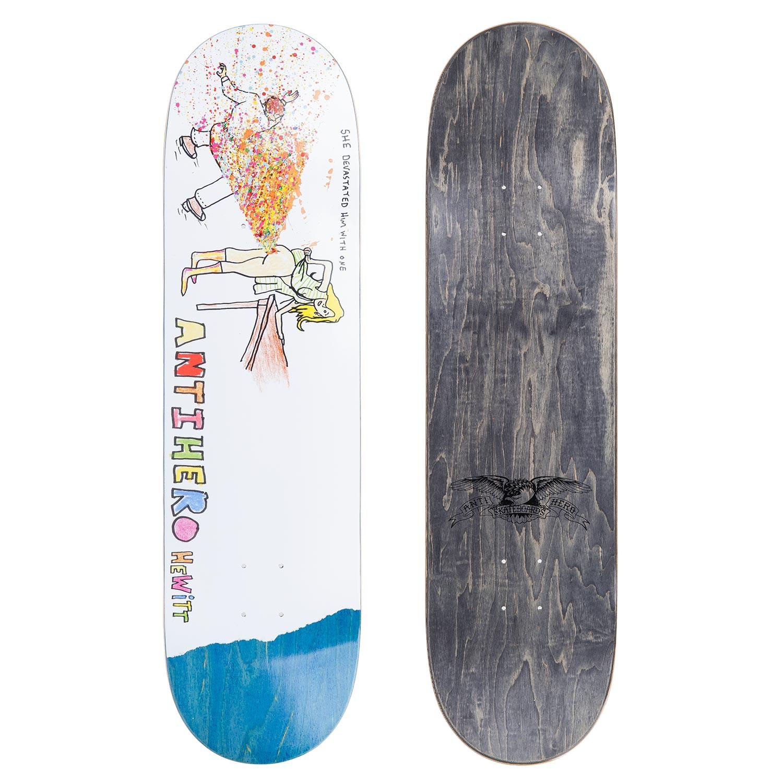 Skate deska Antihero Porous Guest Hewitt 8.62