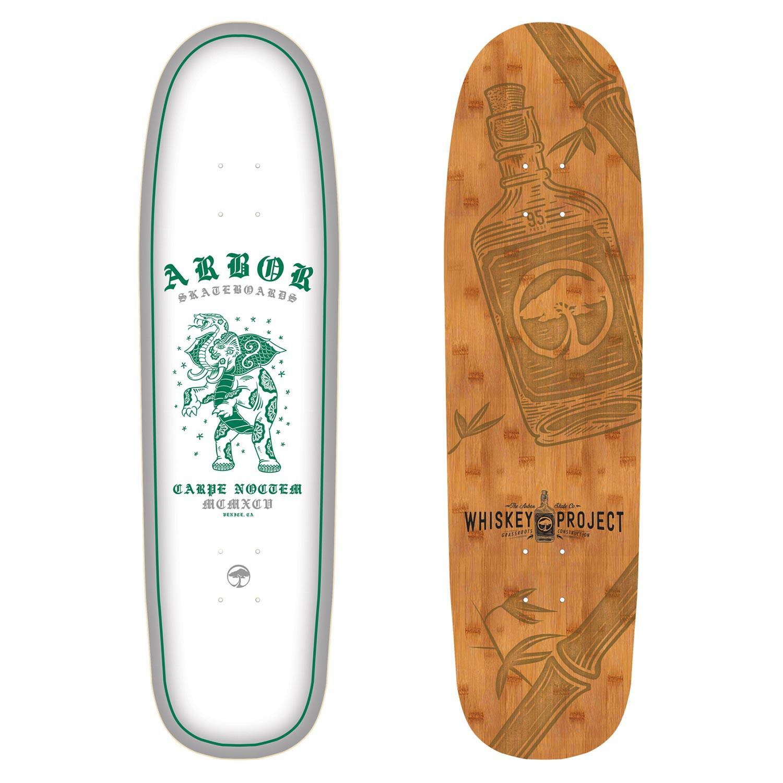 Skate deska Arbor Cucharon 8.75 Blanco