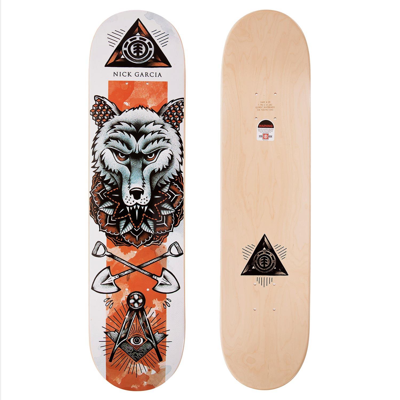 Skate deska Element Garcia In Bloom 7.75