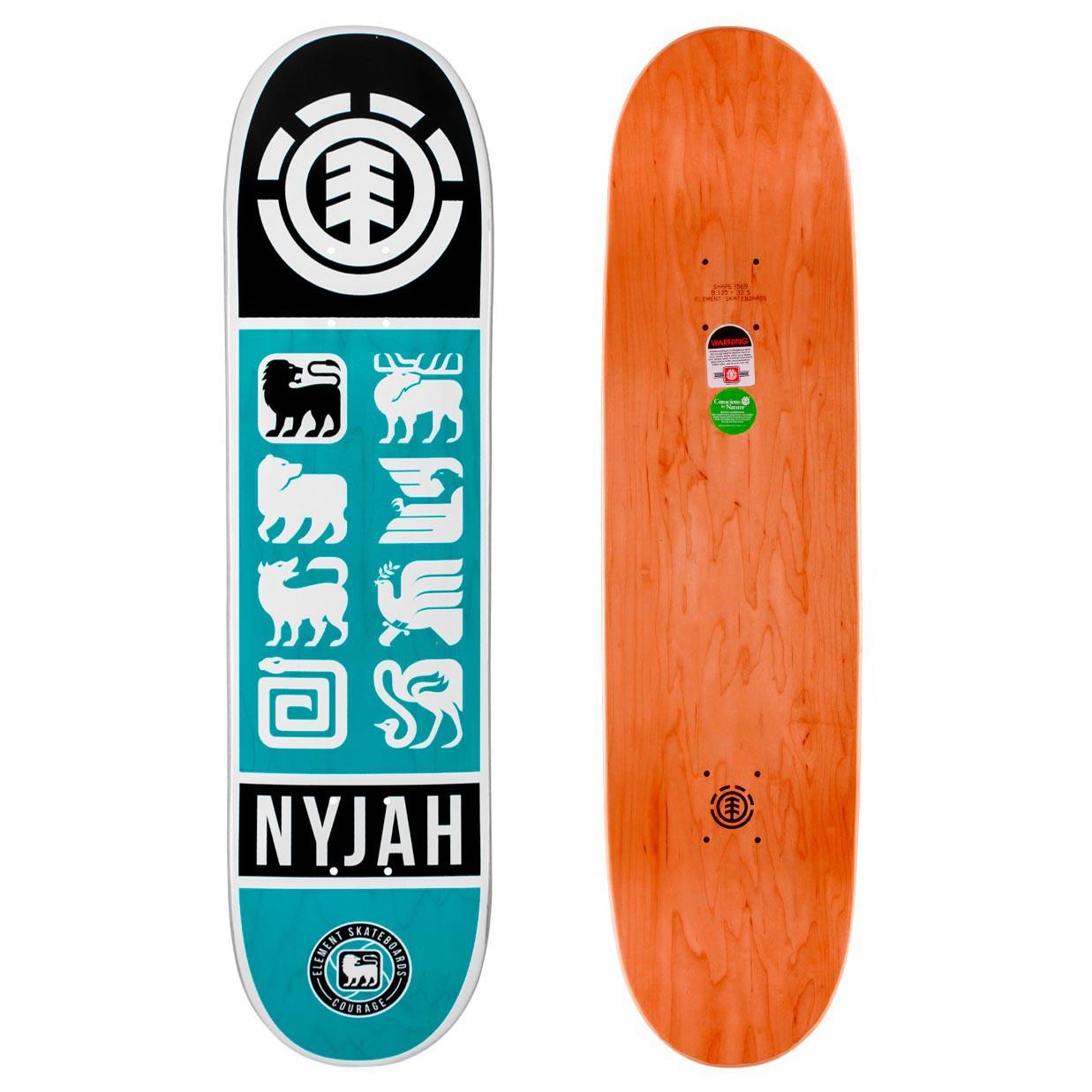 Skate deska Element Nyjah Ascend 8.0 blue/white