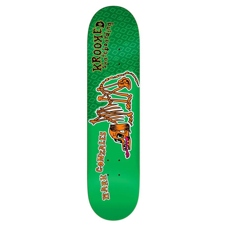 Skate deska Krooked Gonz Los Perros Muertos 7.9
