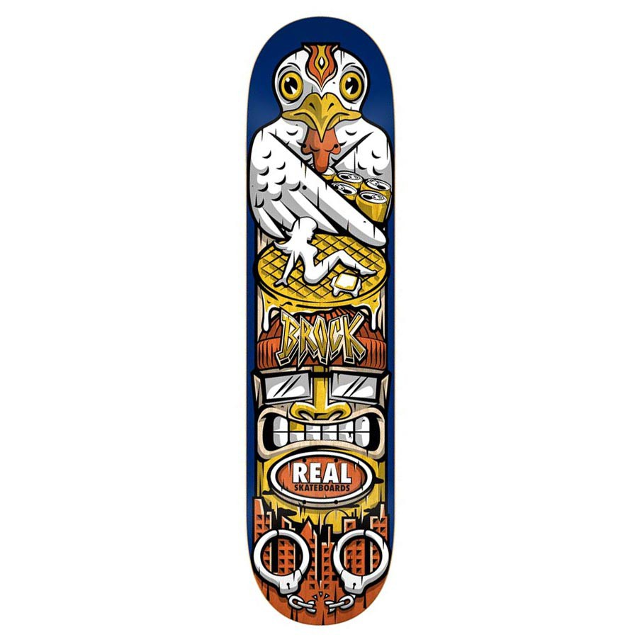 Skate doska Real Brock Spirit Guide 8.43