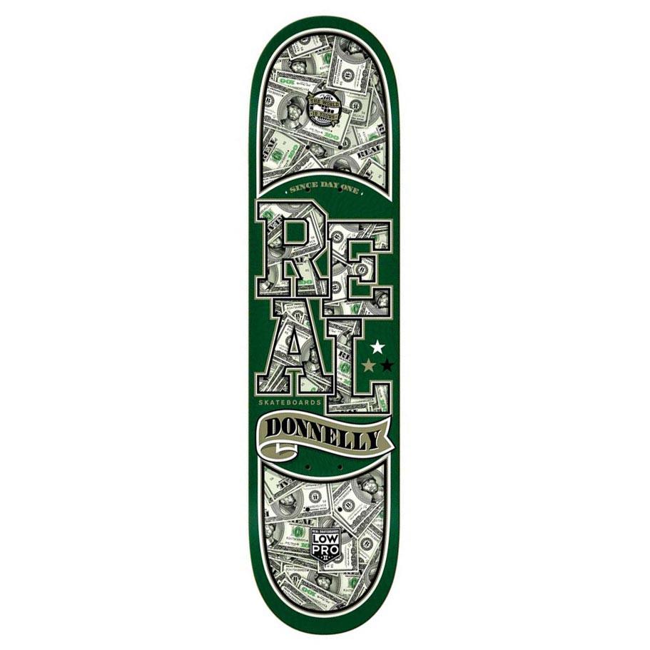 Skate deska Real Donnelly Bnkrll 8.18