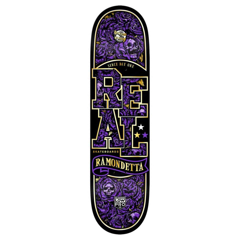Skate deska Real Ramondetta Hellbound 8.43